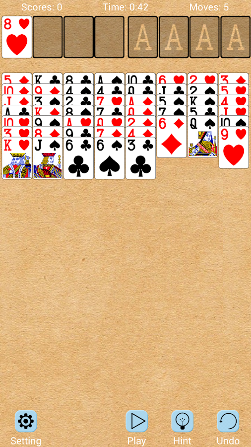 FreeCell Solitaire Card Games - screenshot