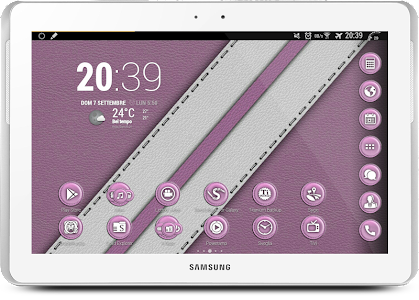Leather Pink Theme v1.1.4