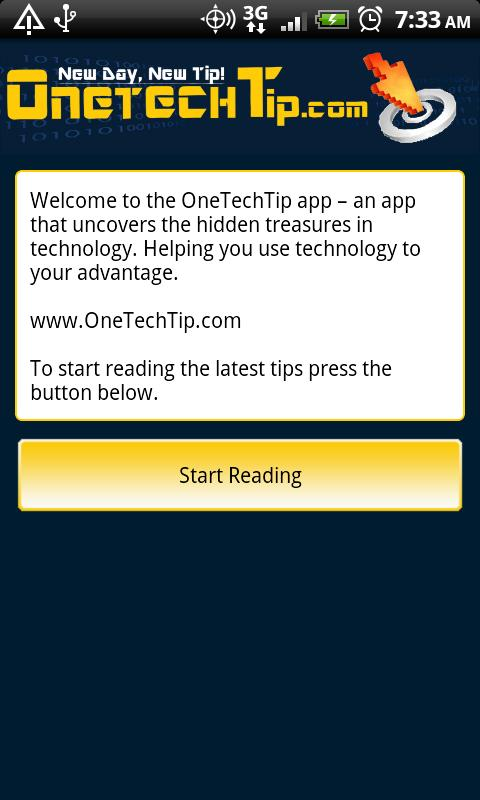 OneTechTip - screenshot