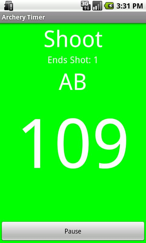 Archery Timer - screenshot