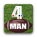 4 Man Flag Football Playbook icon