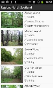 Woodlands.co.uk- screenshot thumbnail