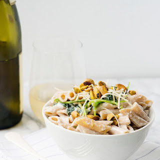 Kale and Ricotta Pasta