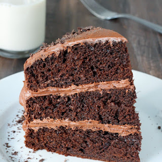 Greek Yogurt Chocolate Cake.