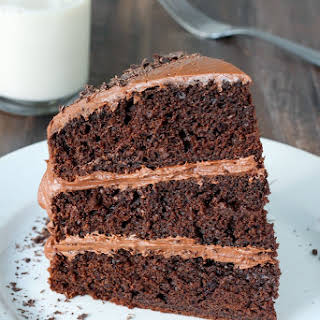 Greek Yogurt Chocolate Cake.