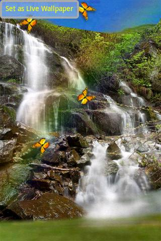 Magic Butterfly Waterfall - screenshot