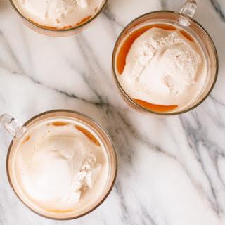 Chai Affogato (with Honey-Sweetened Coconut Milk Ice Cream)