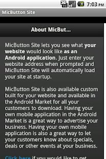 MicButton Site - screenshot thumbnail