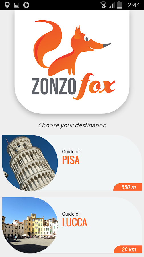 ZonzoFox Italy Official Guide & Maps- screenshot
