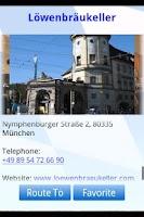Screenshot of BeerGardener - Enjoy Munich!