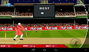 Screenshot of Modi Cricket T20