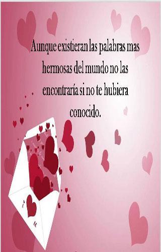 Tarjetas de amor...Using Google Play