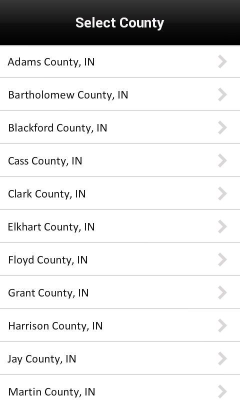 eGIS Mobile- screenshot