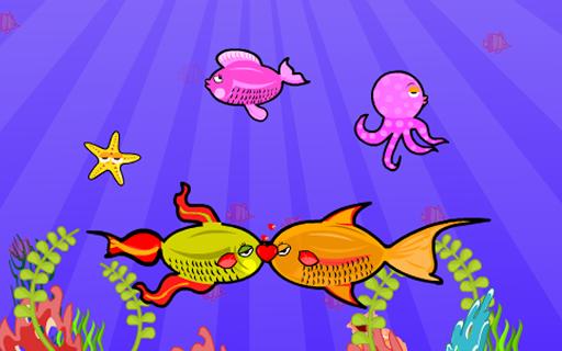 休閒必備免費app推薦 Fun Fish Love Kiss線上免付費app下載 3C達人阿輝的APP