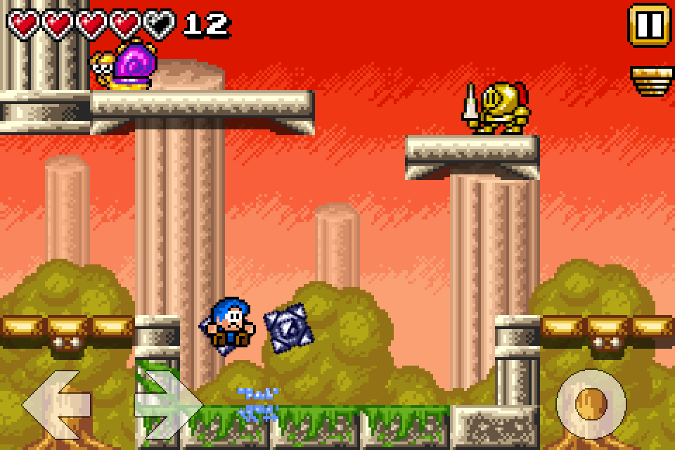 Bloo Kid- screenshot