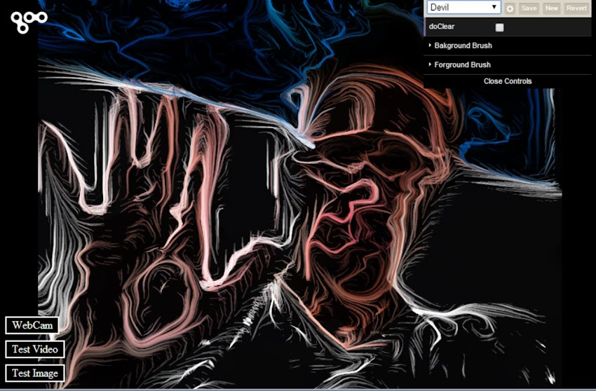 Painter Bot by Rikard Herlitz | Experiments with Google