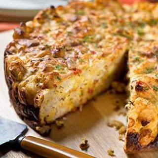 Savory Cauliflower Cake