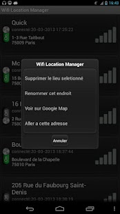 Wifi Location Manager - náhled