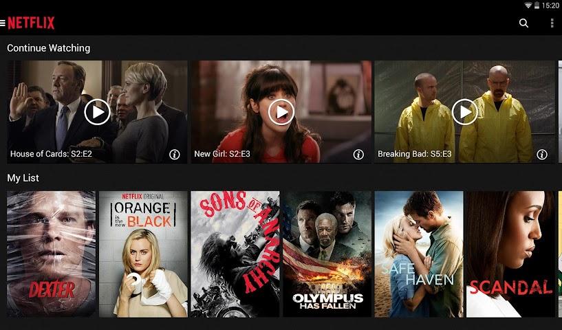 Screenshot 1 Netflix