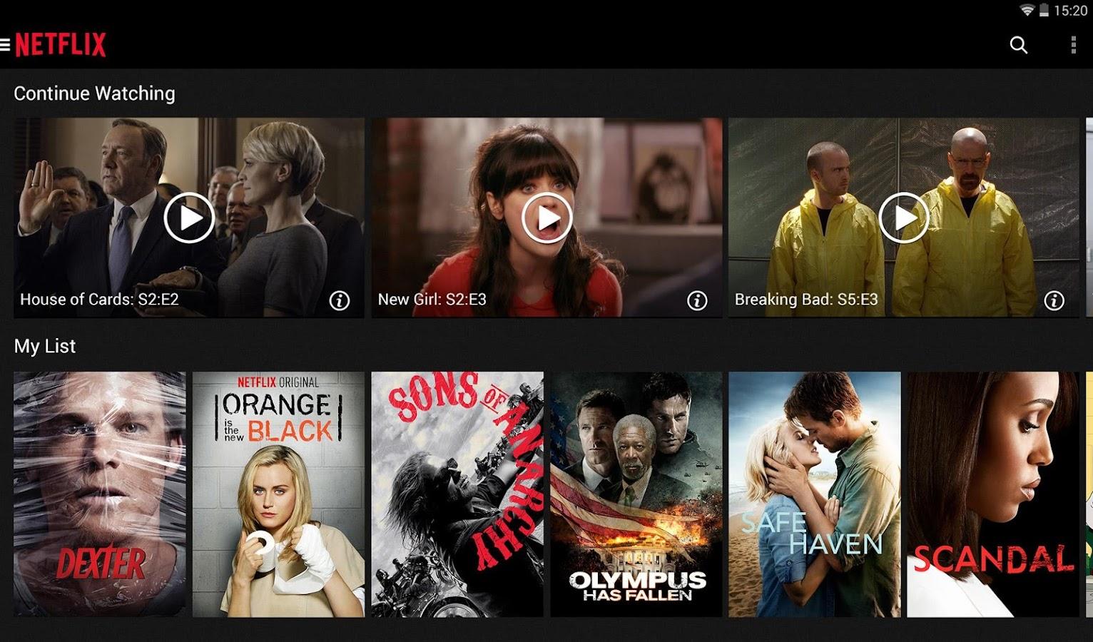 Netflix - screenshot