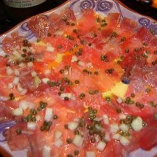 Santa Fe Tuna Carpaccio