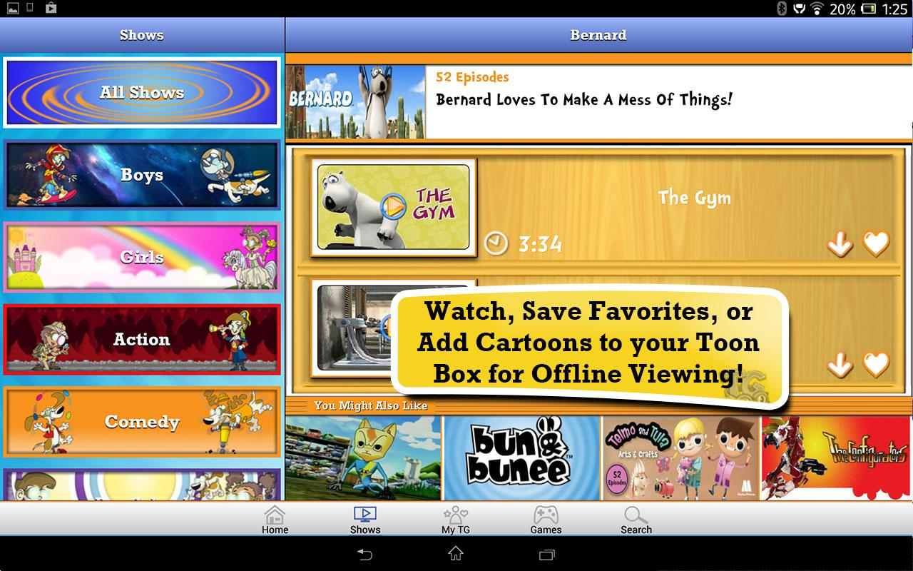 Toon Goggles for Sony - screenshot