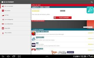 Screenshot of AppliScope