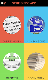 Scheiding app- screenshot thumbnail