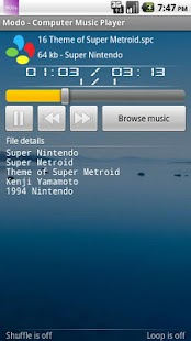 Modo - Computer Music Player - screenshot thumbnail