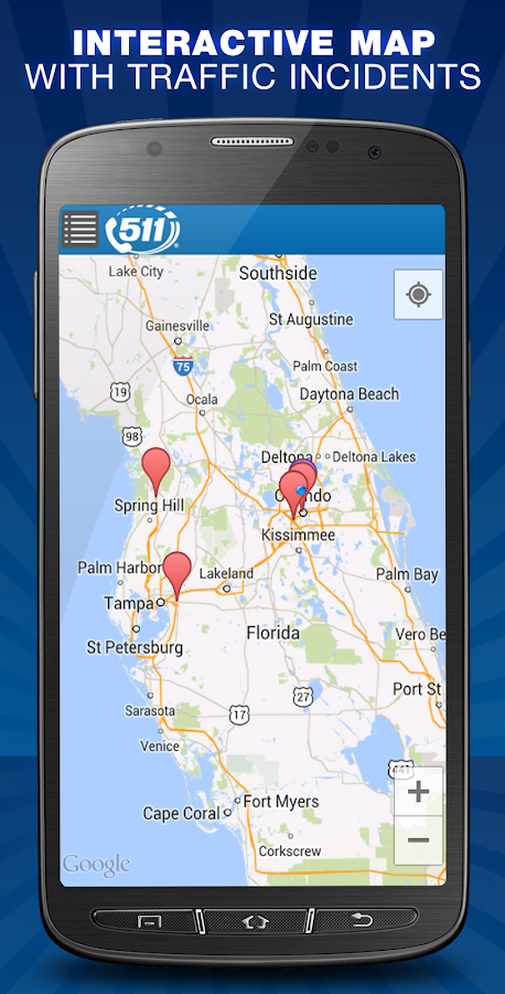 Florida 511 - screenshot