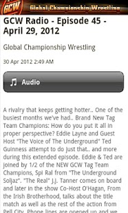 GCW Pro - screenshot thumbnail