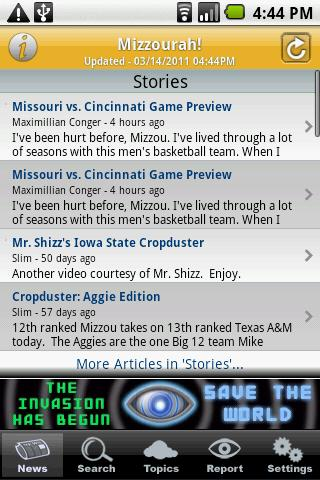 Mizzourah - screenshot