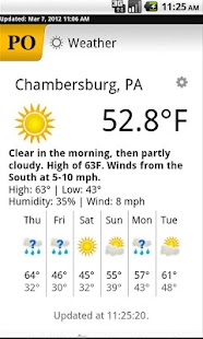 Chambersburg Public Opinion - screenshot thumbnail