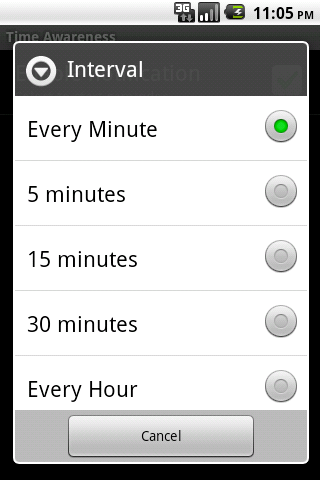 Zee Robot Time Awareness - screenshot