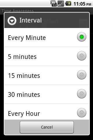 Zee Robot Time Awareness - screenshot