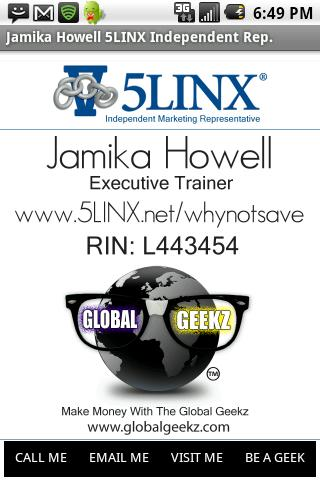 Jamika Howell 5LINX (IMR)- screenshot