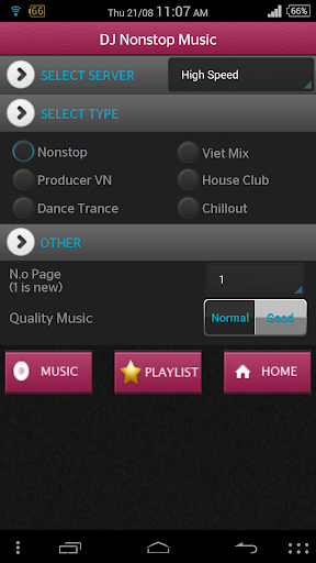 DJ Nonstop Music Player