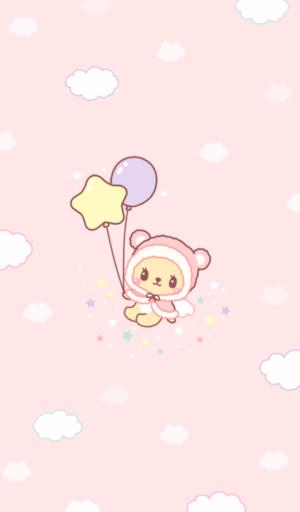 트윙클 비비 balloon 카카오톡 테마