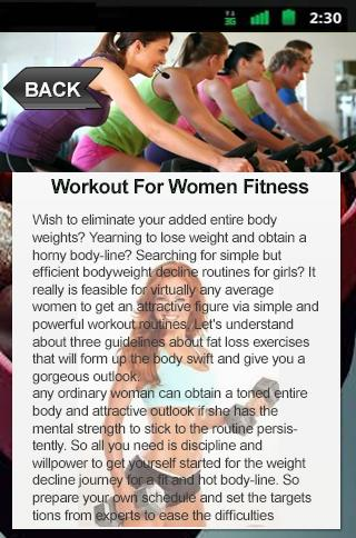 Workout For Women Fitness