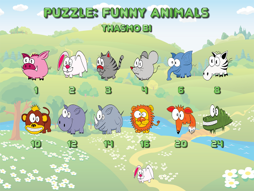 玩免費解謎APP|下載Funny animal puzzle HD Full app不用錢|硬是要APP