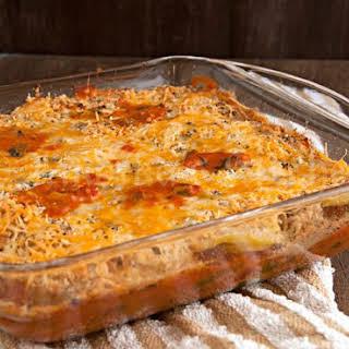 Spicy Potato Curry Casserole.