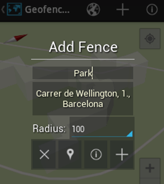 Geofencer - screenshot