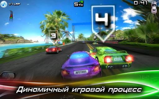 Игра Race Illegal: High Speed 3D для планшетов на Android