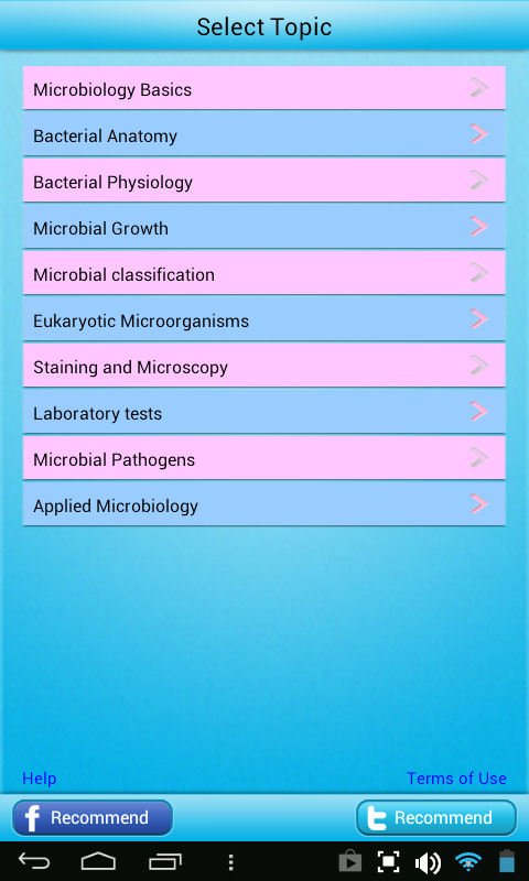 Microbiology Learn Test Review- screenshot