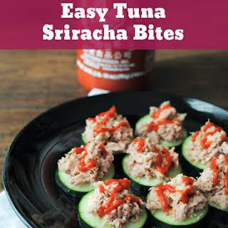 Easy Tuna Sriracha Bites.