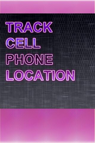 Track Cell Phone Location App - screenshot