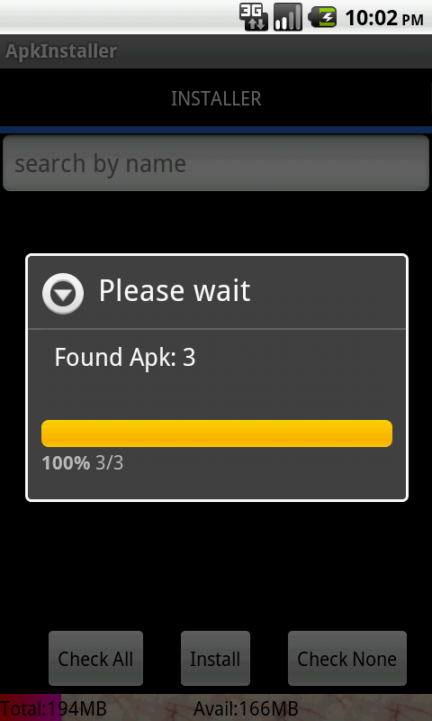 ApkInstaller(apk installer) - screenshot