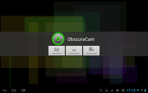 ObscuraCam: The Privacy Camera - screenshot thumbnail