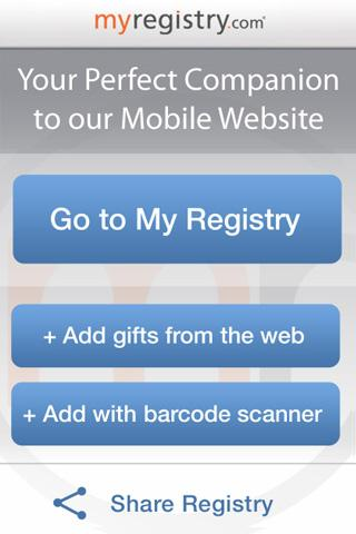 MyRegistry - screenshot