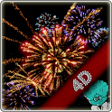 Fireworks 4D with Countdown icon